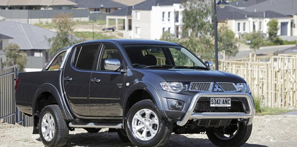New Mitsubishi Triton & Pajero coming in 2014
