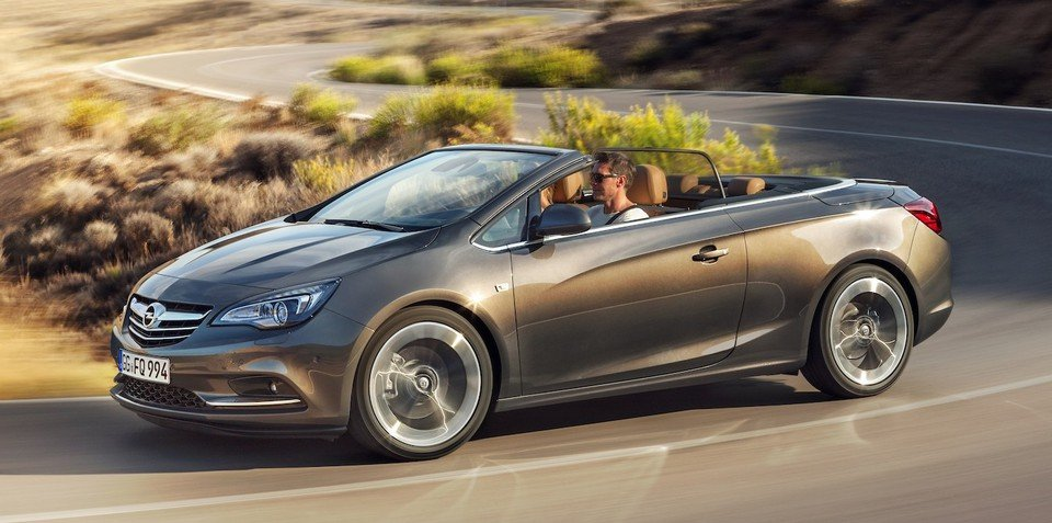 Opel Cascada: mid-size convertible revealed