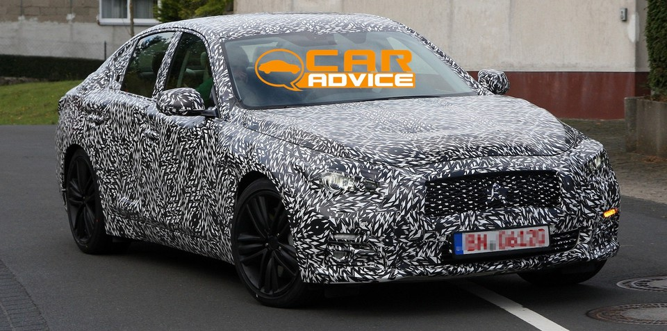 Infiniti G sedan: first look at Japanese 3 Series rival