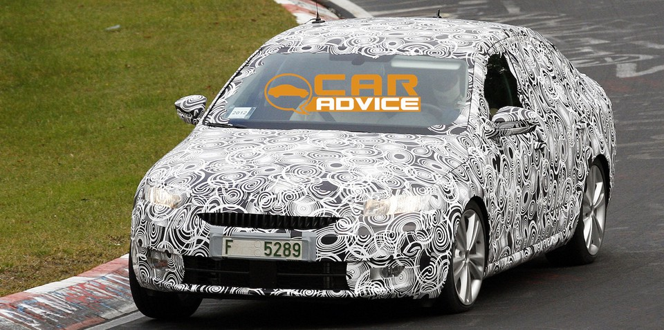 2013 Skoda Octavia: first look at new mid-sized Czech sedan