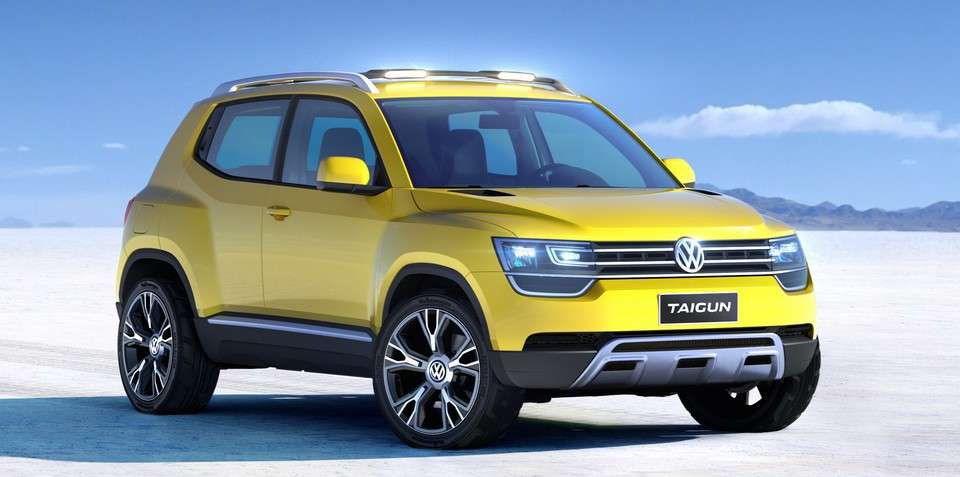 Volkswagen Taigun concept previews new baby SUV