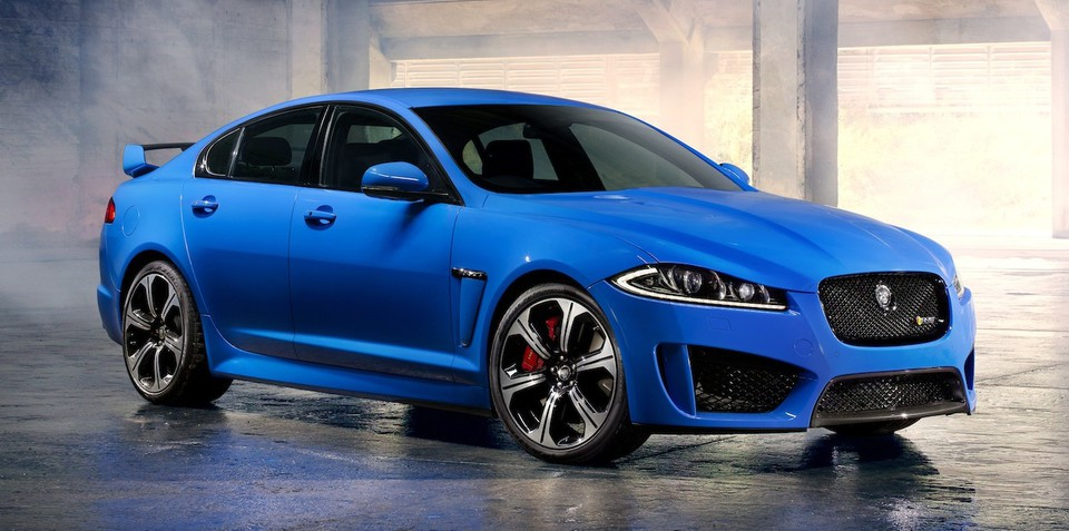 Jaguar XFR-S: cut cat guns for M5
