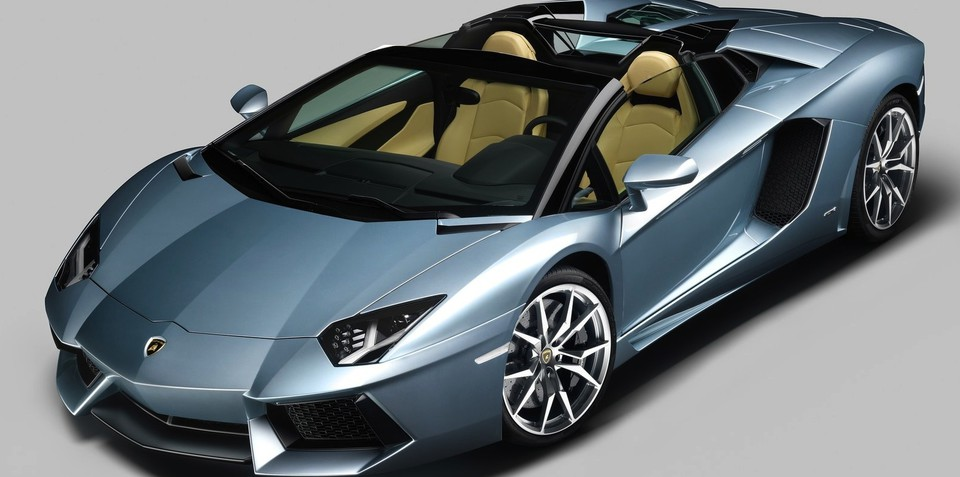 Lamborghini Aventador LP700-4 Roadster: circa-$845,000 local price