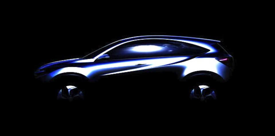 Honda Urban SUV concept: Jazz-based crossover teased