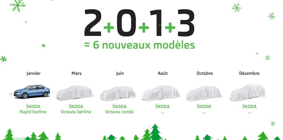 Skoda to launch six new models in 2013