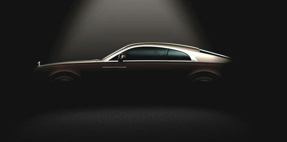 Rolls-Royce Wraith: Ghost coupe teased ahead of Geneva