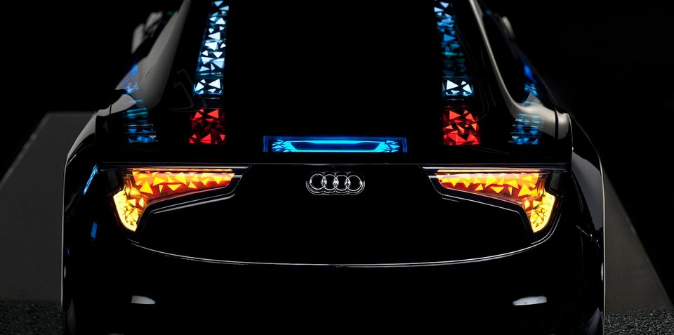 Audi showcases new lighting, autonomous driving technology