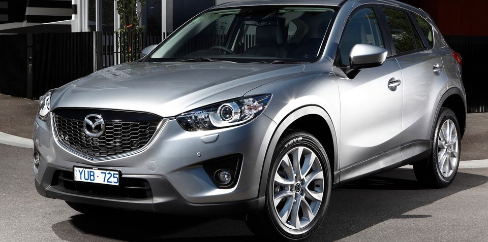 Mazda CX-5 a strong contender to be 2013's top-selling SUV, says company