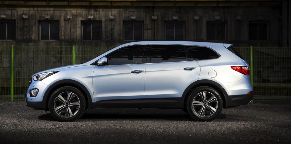 Hyundai Grand Santa Fe: long-wheelbase SUV confirmed for Europe