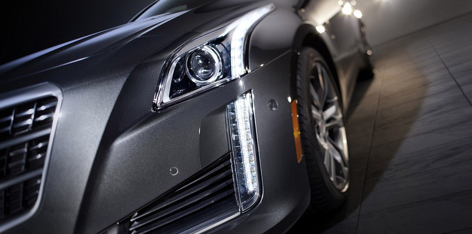 Cadillac CTS teasers leaked