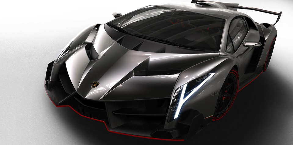 Lamborghini Veneno: the $6 million speeding bull