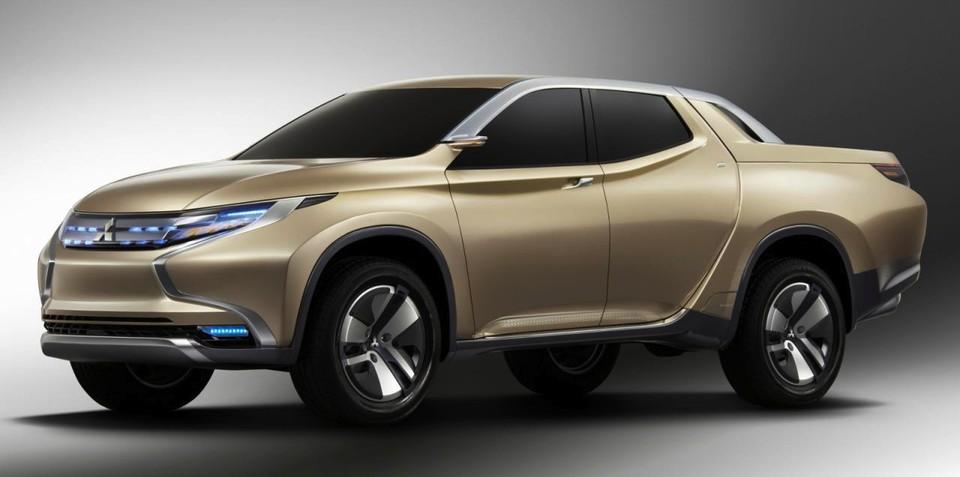 Mitsubishi GR-HEV concept: plug-in ute teases new Triton