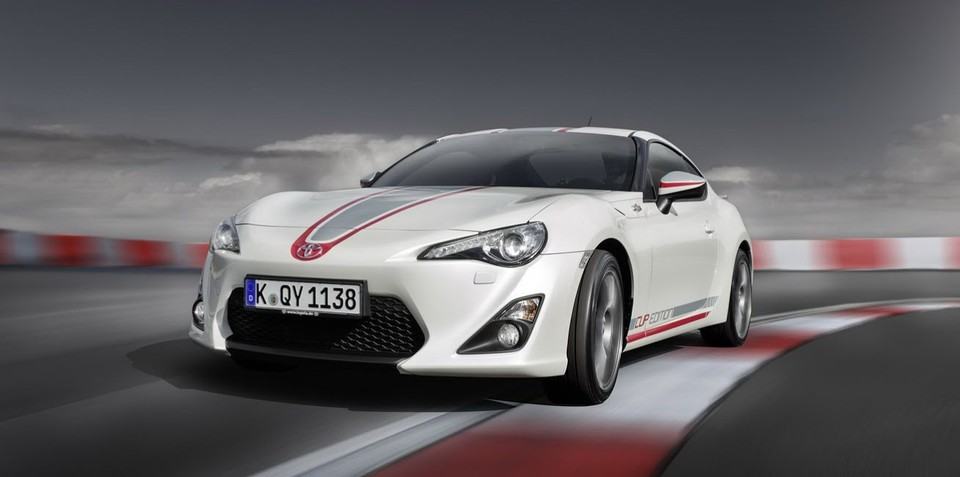 Toyota 86 Cup Edition: Germany-only model released