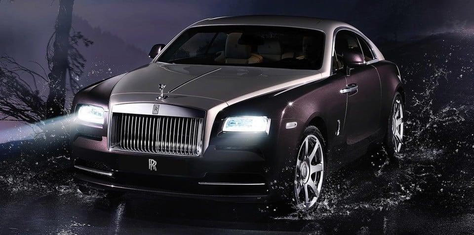 Rolls-Royce Wraith convertible: door open for smaller Drophead