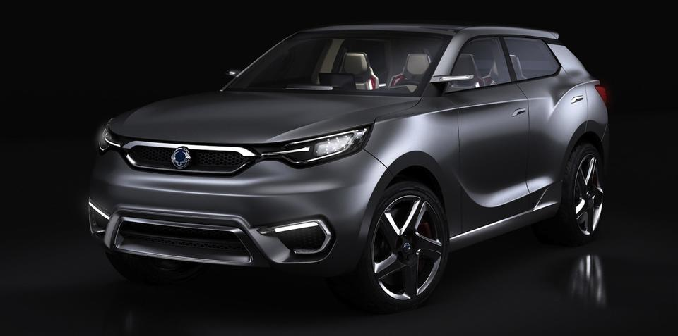 Ssangyong SIV-1 concept previews premium mid-sized SUV