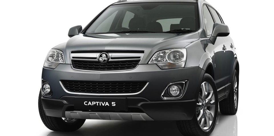 2013 Holden Captiva: new six-speed auto heads SUV updates