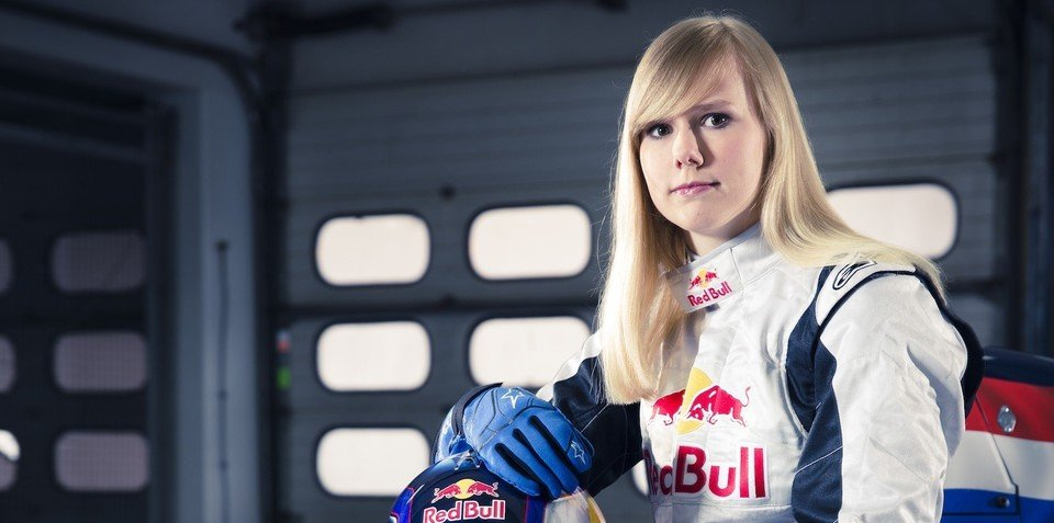 Red Bull signs first-ever female racer to junior team