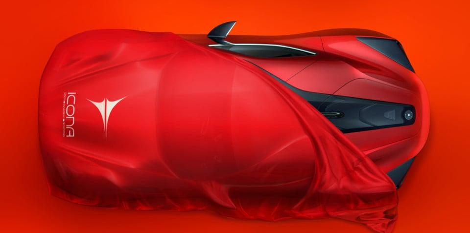 Icona Vulcano: 670kW Chinese hybrid supercar set for Shanghai reveal