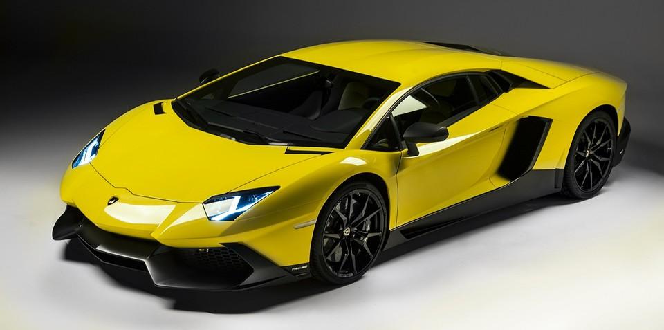 Lamborghini Aventador LP720-4 50 Anniversario Edition leaked