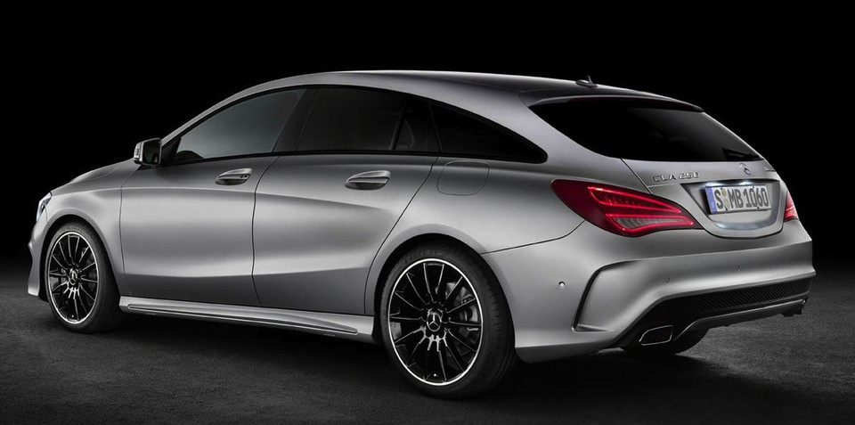 Mercedes-Benz CLA Shooting Brake eyes production: report