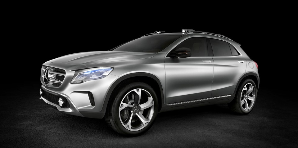 Mercedes-Benz GLA Concept officially revealed