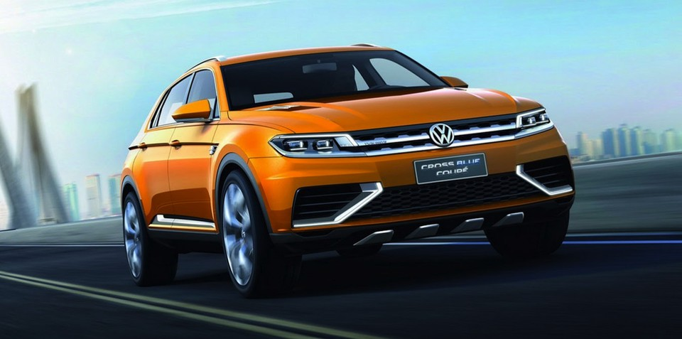 Volkswagen CrossBlue Coupe concept: Germany's Evoque revealed