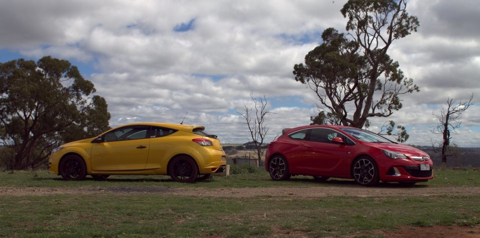 Opel Astra OPC v Renault Megane RS265: Comparison Review