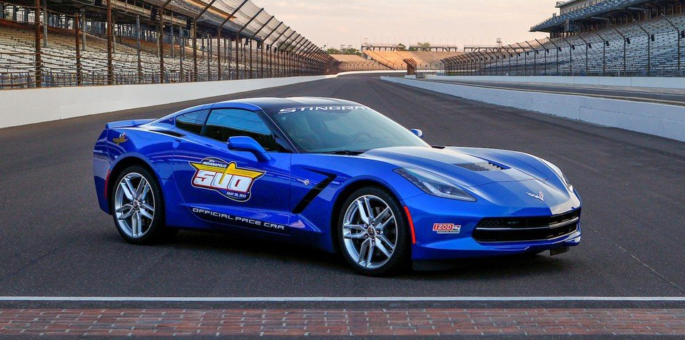 Chevrolet Corvette Stingray to set pace at Indianapolis 500