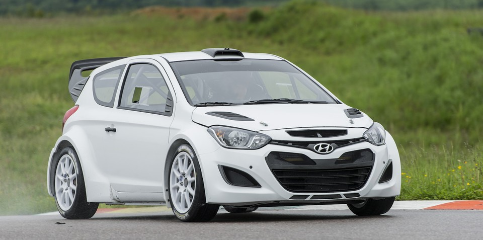 Hyundai i20 WRC completes test debut