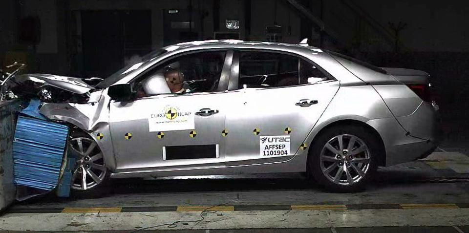 Holden Malibu earns five-star ANCAP rating, Fiat Freemont scores four