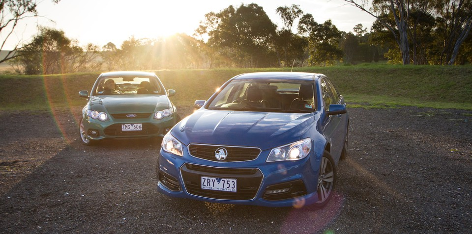 Holden Commodore SV6 v Ford Falcon XR6: Comparison Review