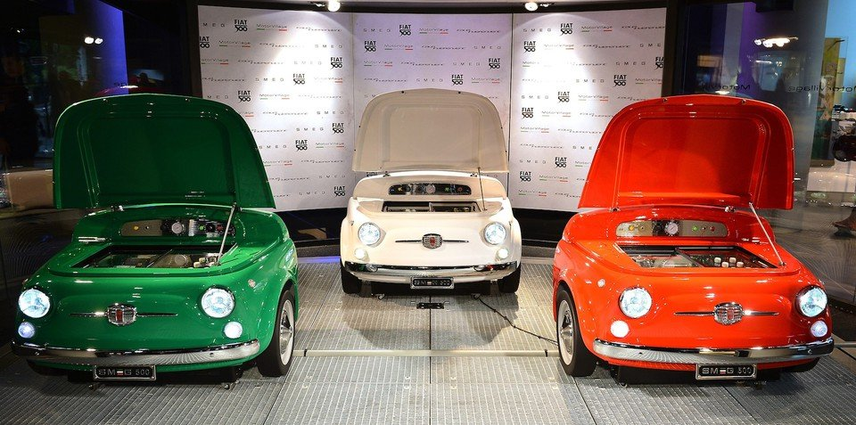 Fiat and Smeg target retro cool with Smeg 500 fridge