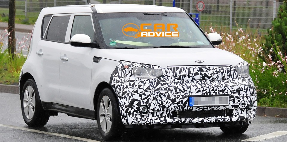 Kia Soul EV: Korean's first global electric car spied