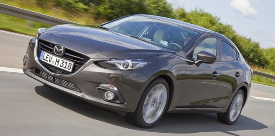 Mazda 3 sedan revealed in leaked images