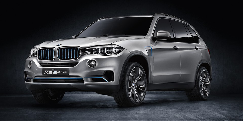 BMW X5 eDrive concept: all-wheel drive plug-in hybrid revealed