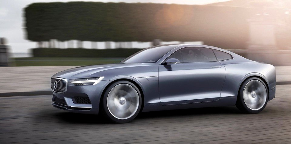 """Volvo would like to have a large coupe, but project is """"on hold"""""""