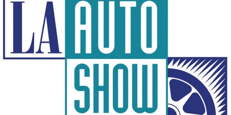 2013 Los Angeles auto show confirms nine world debuts