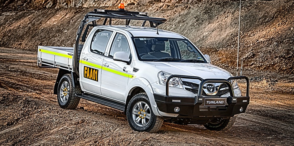 Foton Tunland Mine Spec: Chinese ute made for Aussie mines