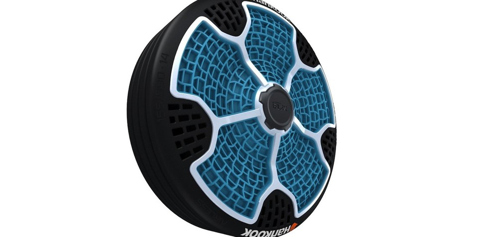 Hankook i-Flex: airless tyre concept unveiled