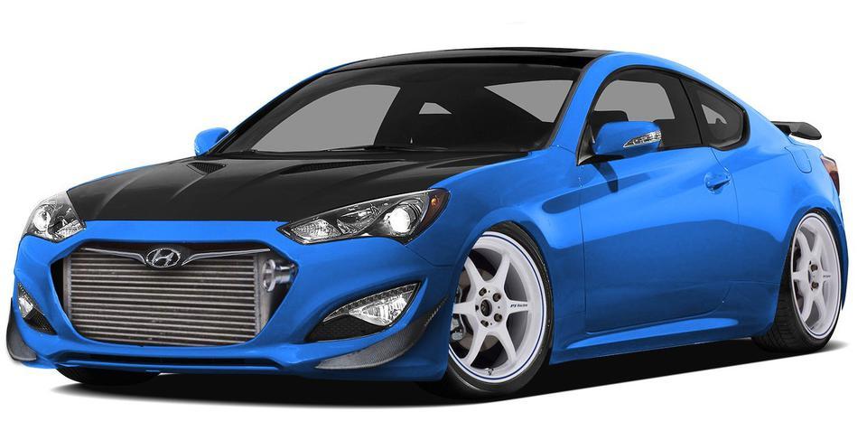 Hyundai Genesis Coupe: 1000hp SEMA concept revealed