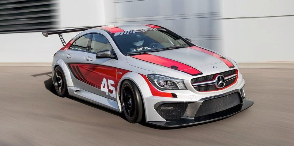 Mercedes benz cla45 amg racing series concept signals gt3 goal for Mercedes benz cla45 amg price