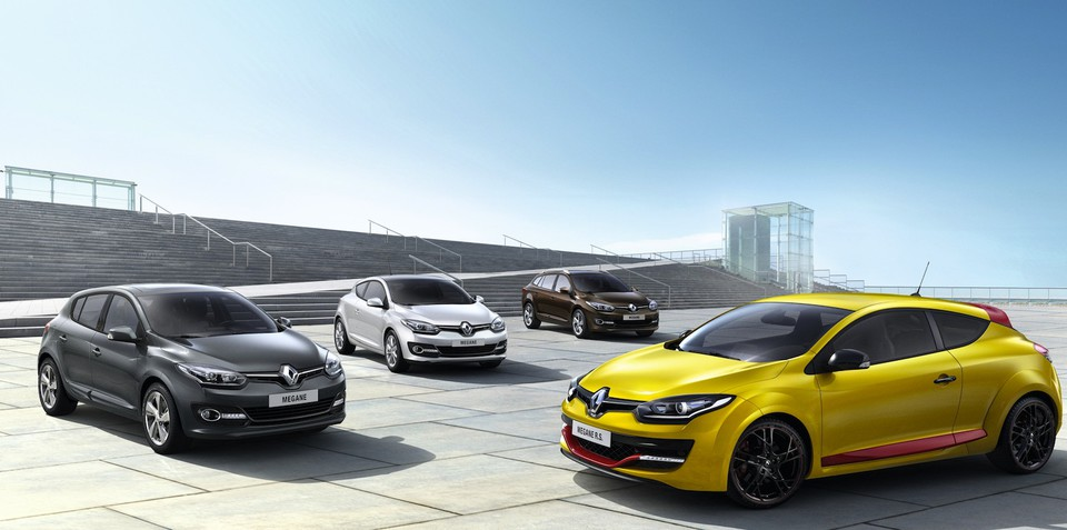 Renault Megane: 2014 facelift revealed