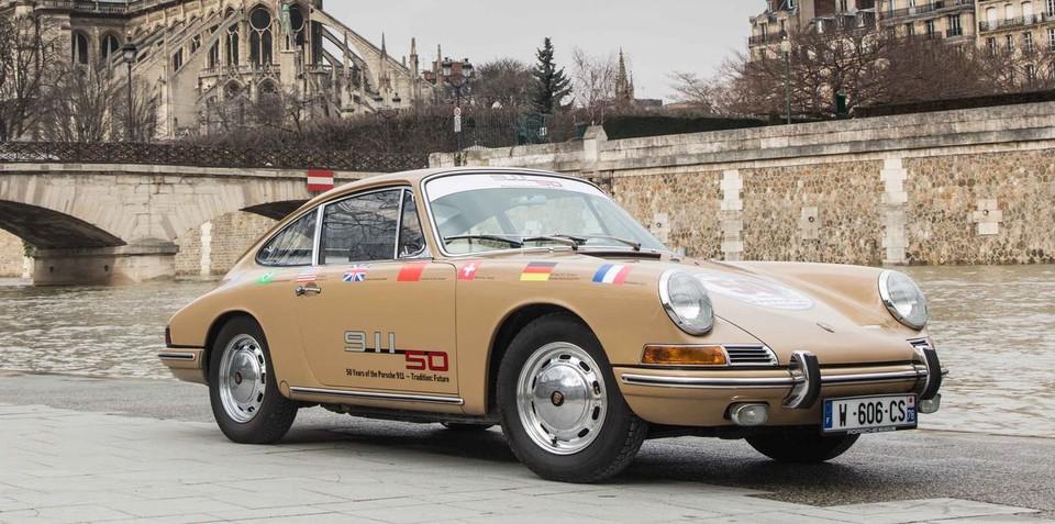 Porsche to mark 50 years of 911 with Sydney Harbour Bridge crossing