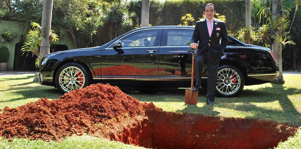 Man who threatened to bury Bentley revealed as organ donor advocate