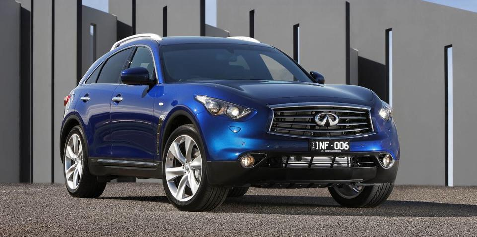 Infiniti: our competition is too rationally driven