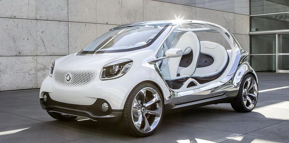 Smart FourJoy concept: doorless city buggy revealed