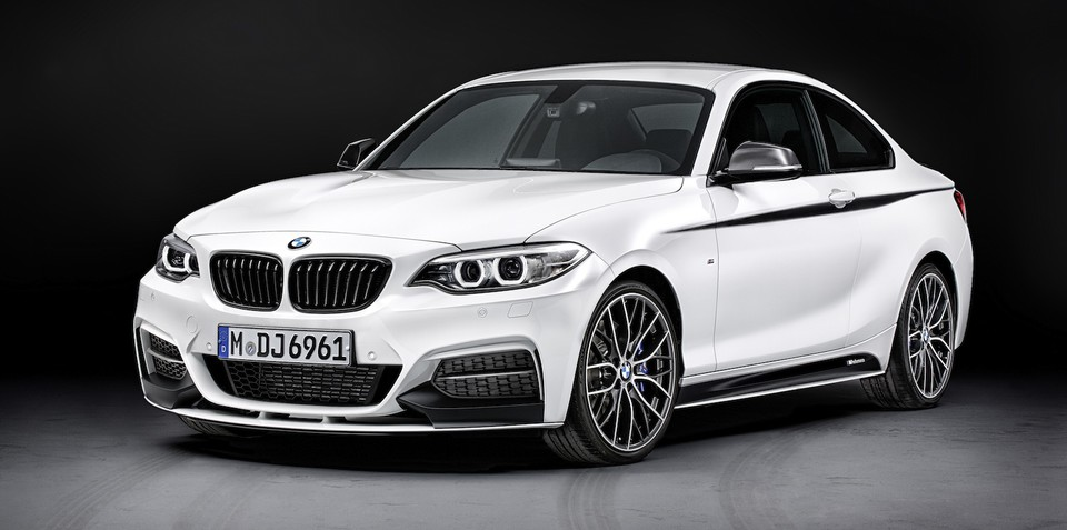 BMW 2 Series Coupe: M Performance kits, accessories revealed