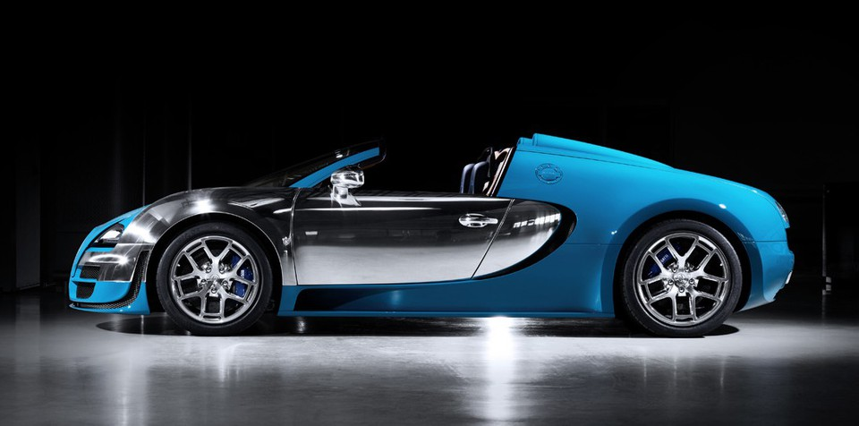 Bugatti Veyron Legend Meo Constantini: third special edition revealed
