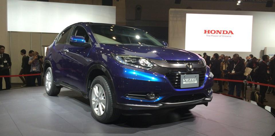 Honda Vezel: sub-compact SUV heading to Australia