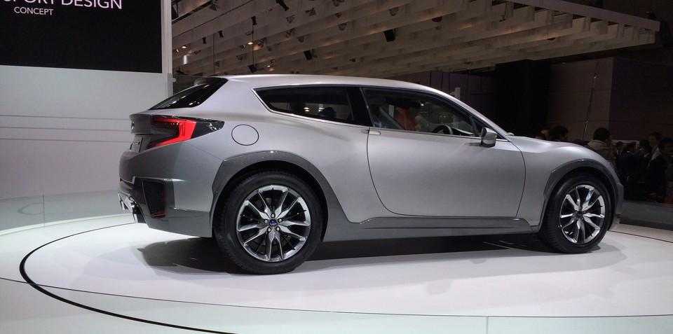Subaru Cross Sport shows potential BRZ Shooting Brake